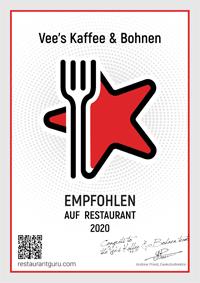 Restaurant Guru Empfehlung 2020